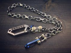 Everything is pure design, made with the best elements and materials to build a chain that I can predict will be indestructible and will last through the years for its quality and consolidated style.- Top carabiner: (Drone Carabiner) Titanium Gr-5 / Polished non-mirror / Anodized Aged Blue- Chain: Wallet Chain, Old Things, Pure Products, Mirror, Top, Blue, Design, Style, Swag