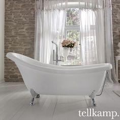 Tellkamp Nostalgia: Die Freistehende Ovale Badewanne Punktet Vor Allem Mit  Der Erhöhten Nackenpartie. Das