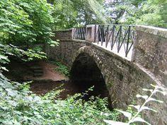 Bridge over River Ugie Aden Country Park