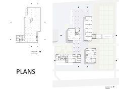 FYP/Chiyah Economic Rehabilitation Center on Behance Rehabilitation Center Architecture, General Hospital, Floor Plans, Behance, How To Plan, Design, Architecture, Floor Plan Drawing