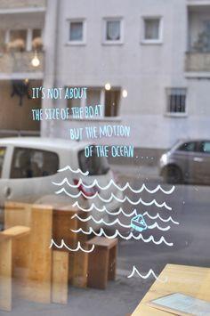 Berlin Bitte Coffeehouse Urban art