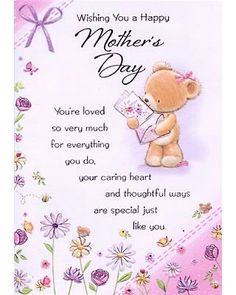 Wishing you a Happy Mother's Day...