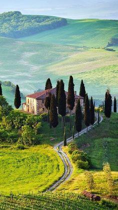 Tuscany, Italy , from Iryna