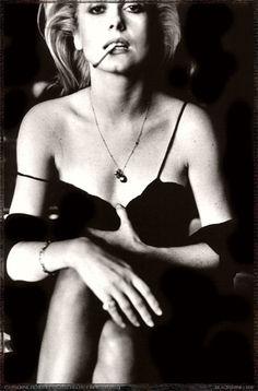 Catherine Deneuve, portrait by Helmut Newton