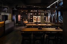 Restaurant Innenarchitektur von YOD Design Lab in der Ukraine - hausdesignon Best Interior Design Websites, Restaurant Interior Design, Commercial Interior Design, Interior Design Tips, Commercial Interiors, Pop Design, Design Lab, Design Ideas, Ukraine