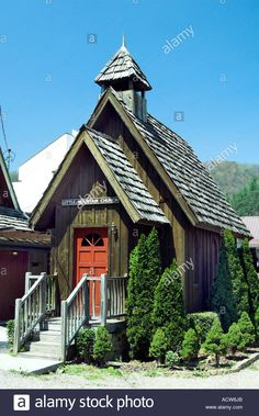 Little Mountain Church Wedding Chapel In Downtown Gatlinburg