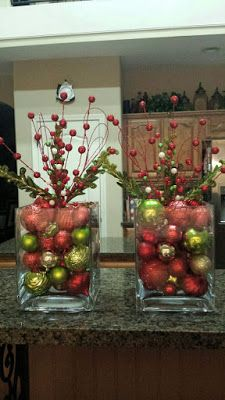 Exceptional Christmas deco detail are available on our website. Christmas Vases, Christmas Bathroom Decor, Christmas Table Centerpieces, Christmas Arrangements, Christmas Tablescapes, Xmas Ornaments, Xmas Decorations, Christmas Projects, Christmas Wreaths