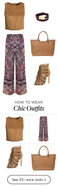 """""""Chic"""" by charlotte-r-k on Polyvore featuring New Look, Miss Selfridge, River Island, Sandler and See by Chloé"""