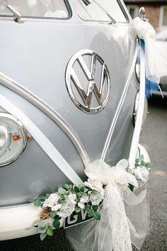 VW Bus Pantone 2017 Wedding Inspiration Neutral Gray 1200