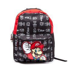 Nintendo - Super Mario Back Pack (Zwart)