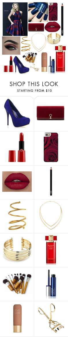 """""""👗"""" by gmurielle ❤ liked on Polyvore featuring Louise et Cie, Giorgio Armani, Casetify, NARS Cosmetics, Chanel, Lana, Belk Silverworks, Estée Lauder, Clinique and Eve Lom"""