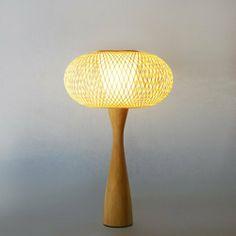 木入三分。竹編檯燈(小號) 日式檯燈 北歐風格 現代簡約-A0006 - 木入三分   Pinkoi