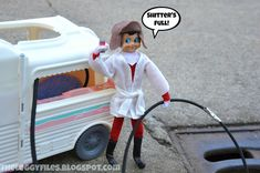 Cousin Eddie (aka Elf on the Shelf) is on Christmas Vacation