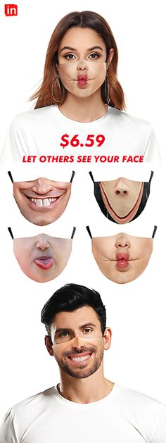 Funny Face Mask, Easy Face Masks, Makeup And Beauty Blog, Mood Pics, Funny Laugh, Halloween Masks, Vintage Halloween, Funny Images, Fashion Clothes