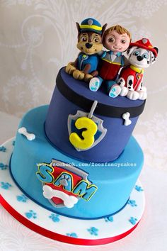 Zoé's fancy cake