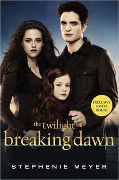 New Edward/Bella/Renesmee 'Breaking Dawn – Part 2′ Promo Picture from the Movie Tie-In