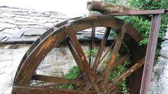 Ancora la nostra ruota del mulino ad acqua Viozene