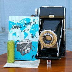 Vintage Kodak Tourist Camera with Box by CanemahStudios on Etsy, $35.00