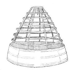 crinoline cage pattern