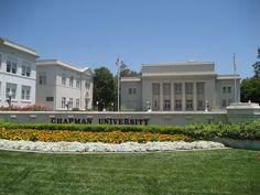 Memorial Hall at Chapman University in Orange County, California