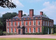 The ancestral home - Whitmore Hall (Morris' estate) Staffordshire English Estates, English Architecture, English Manor Houses, Castle House, Interesting Buildings, Grand Homes, English Countryside, Historic Homes, Old Houses