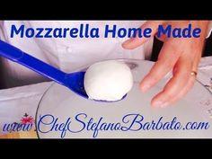 Come Fare la Mozzarella in Casa Cheese Recipes, Keto Recipes, Healthy Recipes, Healthy Food, How To Make Cheese, Food To Make, Ricotta, Queso Mozzarella, Queso Fresco