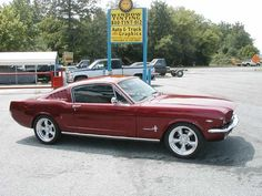 1965 Mustang - this was it!