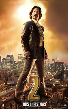 Paul Rudd's Anchorman 2 Poster