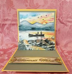 Trinitage - Sunset Fishing by Deloraine Neubauer