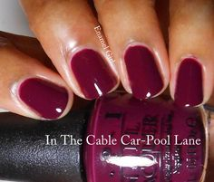 OPI Fall 2013 San Francisco Collection - In the Cable-car Pool Lane