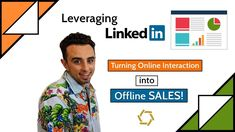 Leveraging LinkedIn: Turning Online Interaction into Offline Sales      #LinkedIn #Online #Interaction #Sales #business #video