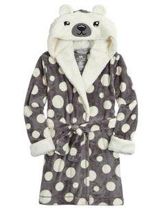 Polar Bear Fleece Robe