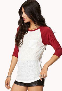 baseball shirt female maroon - Google-søgning