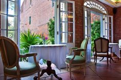 """Dining at Cafe Amelie 
