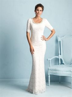 Allure Wedding Gown - Modest Collection  - Style #M532