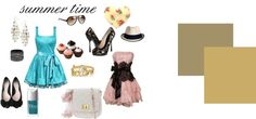 """summer time"" by michellebos1 on Polyvore"