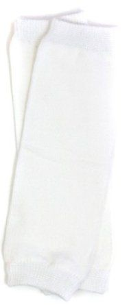 (177) NEWBORN solid white baby boy or girl leg warmers - up to 15 pounds My Little Legs. $7.50