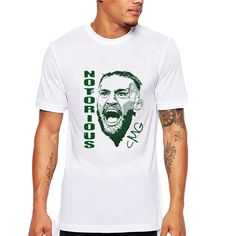 >> Click to Buy << Men's Conor Mcgregor Notorious Print T Shirt Summer Clothing Fitness  Round Neck Short Sleeve Tops Fashion Tees #Affiliate