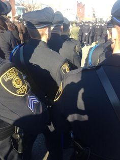 #GTPD Officers attend the funeral for #NYPD Officer Rafael Ramos #ThinBlueLine #LESM