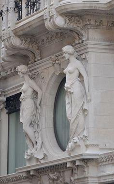 Rhyzen Gallery — My Classical Art Stream. Visit an online gallery. Art Nouveau, Beautiful Architecture, Art And Architecture, Architectural Sculpture, Nature Artwork, Art Sculpture, Classical Art, Sculpting, Fantasy Art