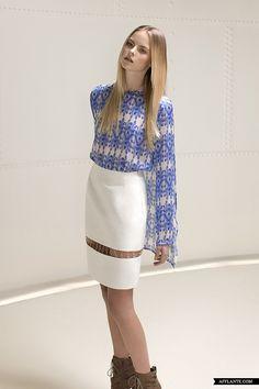 Awesome Skirt Minimalist A/W'12 Fashion Collection // Elise Kim   Afflante.com