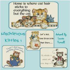 Mischievous Kitties 1