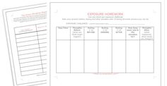 Exposure therapy worksheets for social anxiety Therapy Worksheets, Anxiety Tips, Social Anxiety, Dbt Workbook, Exposure Therapy, Anxiety Problems, Cbt, Anxiety Disorder
