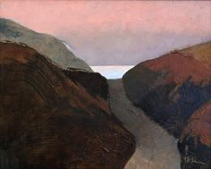 Bart Forbes, Beach Road oil on canvas