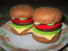 ハンバーガー1 felt burgers