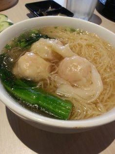 云吞面# wantan soup noodle