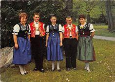 switzerland folklore types trachten von Appenzell