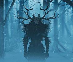 Dark Creatures, Mythical Creatures Art, Mythological Creatures, Fantasy Creatures, Monster Concept Art, Fantasy Monster, Monster Art, Creature Concept Art, Creature Design