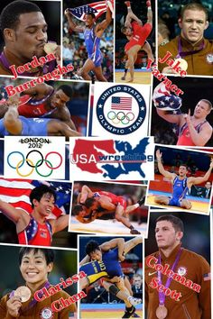Olympic Wrestling Medal Moments