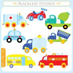 Toy Transport ORIGINAL digital  toy car police by blackleafdesign, $5.00